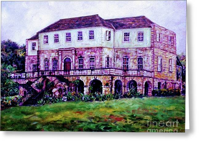 Rose Hall Great House Greeting Card