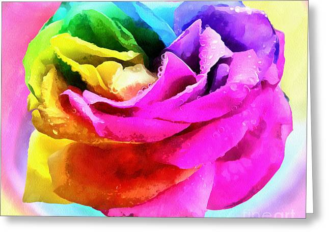 Rose Of Peace Greeting Card