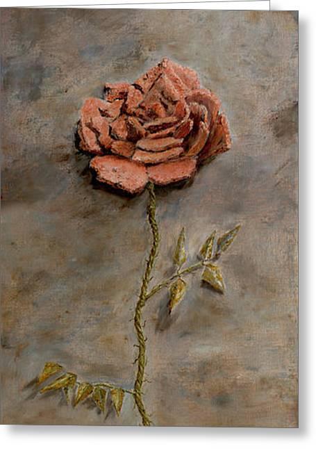 Rose Of Regeneration Greeting Card