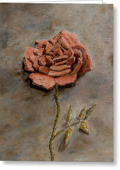 Rose Of Regeneration - Small Greeting Card