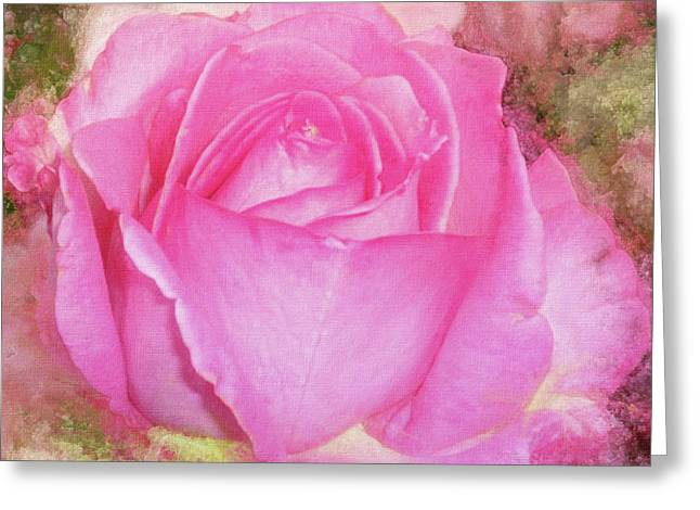 Rose Pastel Soft Sorbet 1 Greeting Card by Mona Stut
