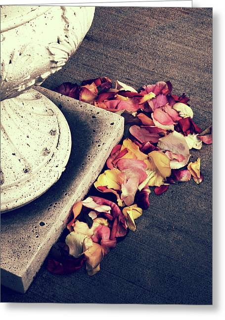 Rose Remnants  Greeting Card by Jessica Jenney