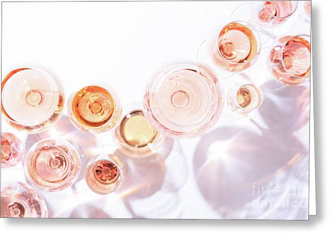 Rose Shades Greeting Card by Ekaterina Molchanova