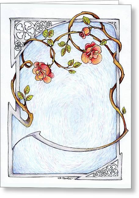 Rose Trellis Greeting Card