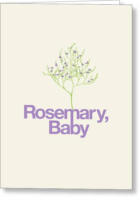 Rosemary, Baby Greeting Card by Mike Lopez