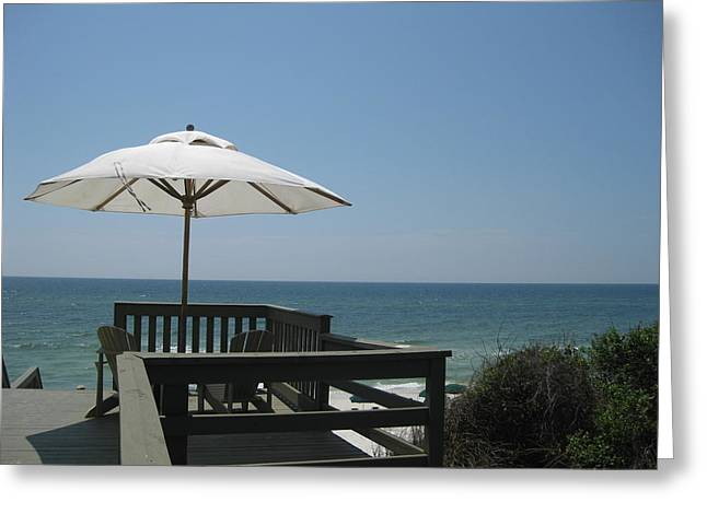 Rosemary Beach Greeting Card by Nina  Kamp
