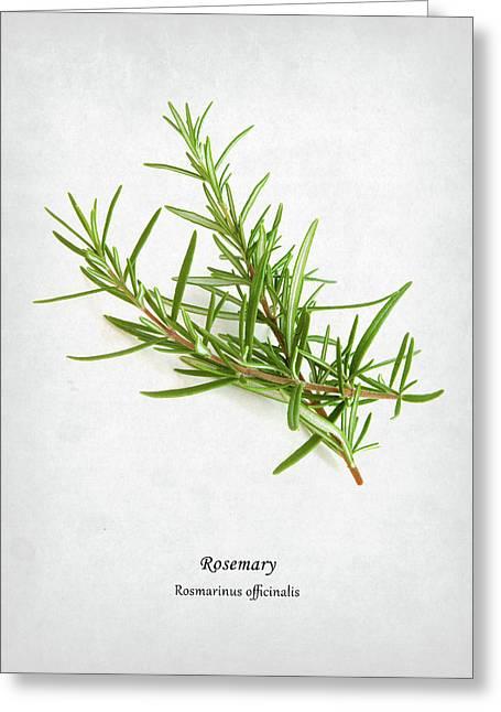 Rosemary Greeting Card by Mark Rogan