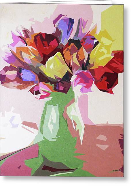 Rosemary's Tulips Greeting Card