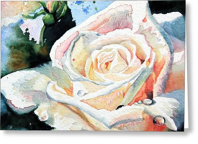 Roses 6 Greeting Card by Hanne Lore Koehler