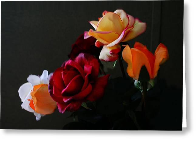 Greeting Card featuring the photograph Roses Are Forever 1 by J Cheyenne Howell