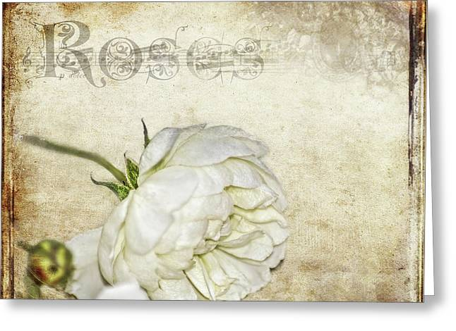Greeting Card featuring the photograph Roses by Carolyn Marshall