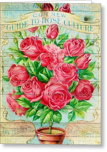 Roses Greeting Card by Evgeni Nedelchev