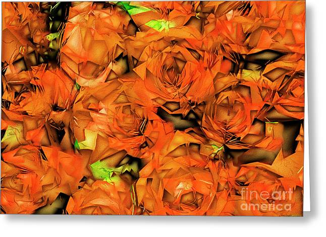 Roses In Abstract 20170325 Greeting Card by Wingsdomain Art and Photography
