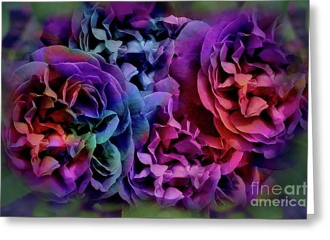 Roses In My Dreams, Deep Greeting Card