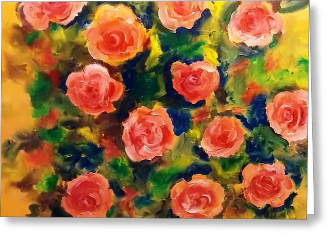 Roses In The Wild 2 Greeting Card by Patricia Taylor