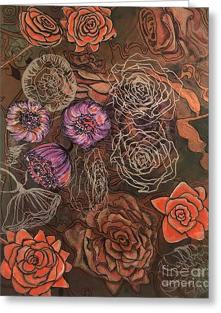 Roses In Time Greeting Card