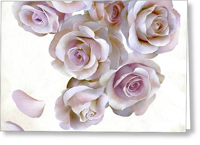 Roses Of Light Greeting Card