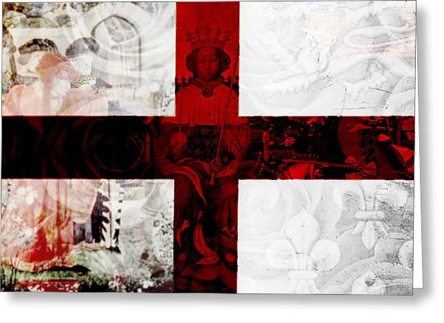 Roses Of War Greeting Card