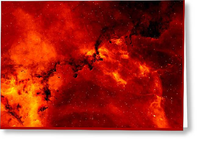 Rosette Nebula Greeting Card by Mountain Dreams