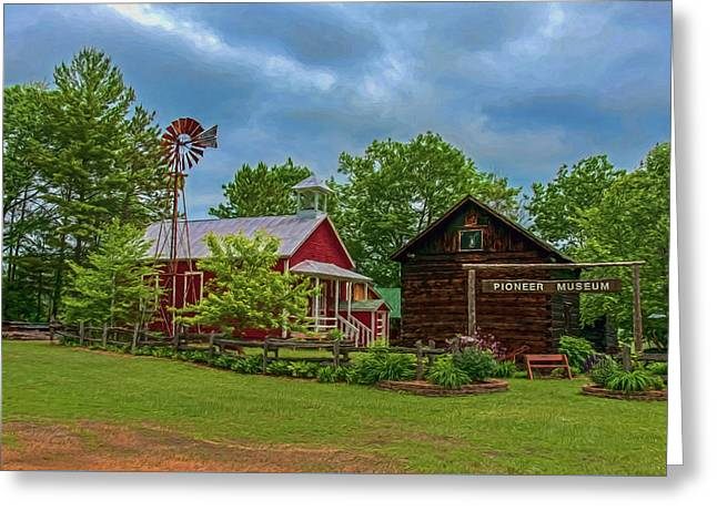 Rosholt Pioneer Park Greeting Card by Trey Foerster