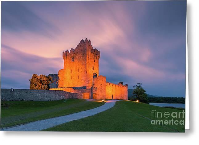 Ross Castle - Ireland Greeting Card