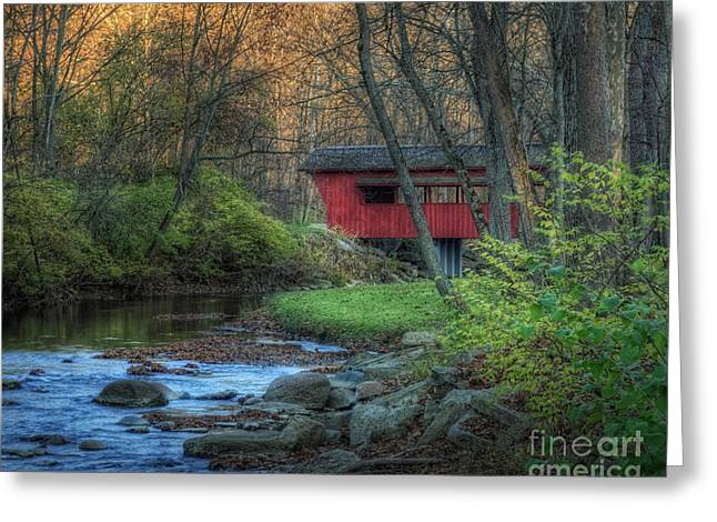 Ross Covered Bridge Greeting Card
