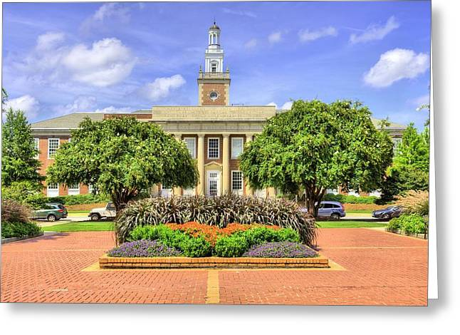 Ross Square  Greeting Card by JC Findley