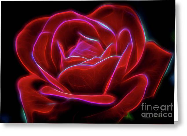 Rosy Dream Greeting Card