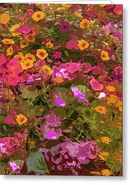 Rosy Garden Greeting Card