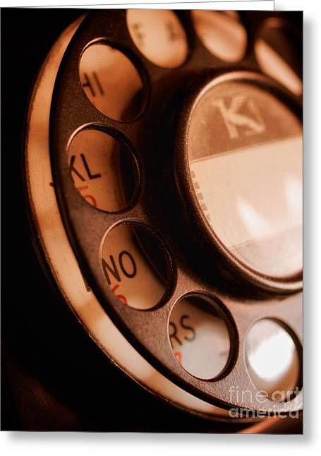 Rotary Dial Greeting Card