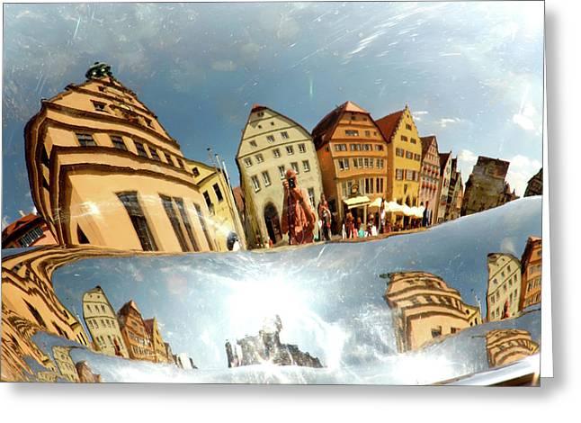 Greeting Card featuring the photograph Rotenburg In A Tuba by KG Thienemann