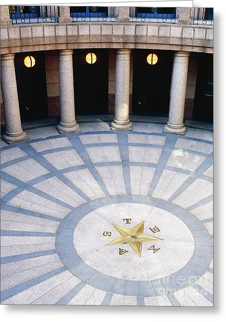 Rotunda In Texas State Capitol Greeting Card