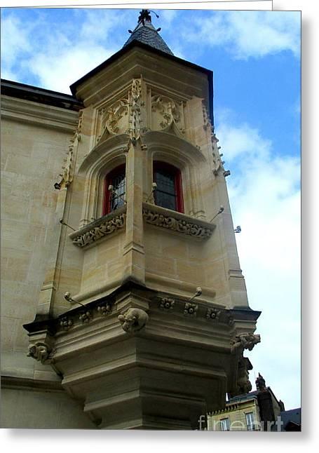 Rouen Corner 1 Greeting Card