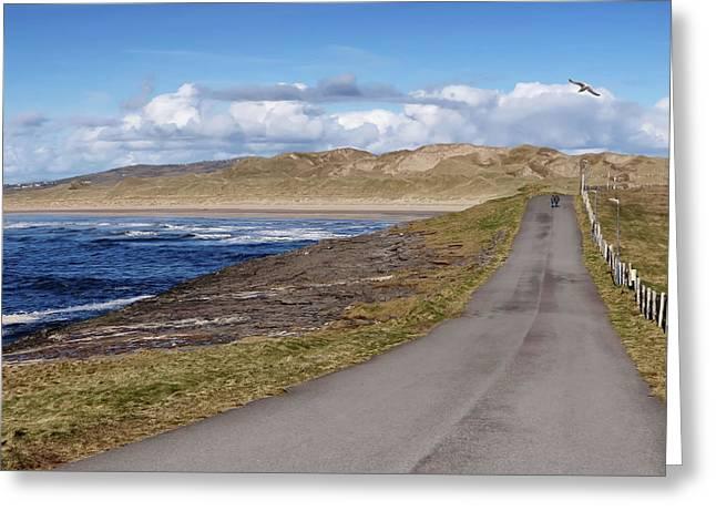 Rougey Walk - Tullan Strand - Bundoran - Stroll On The Beautiful Wild Atlantic Way, Ireland - Spring Greeting Card