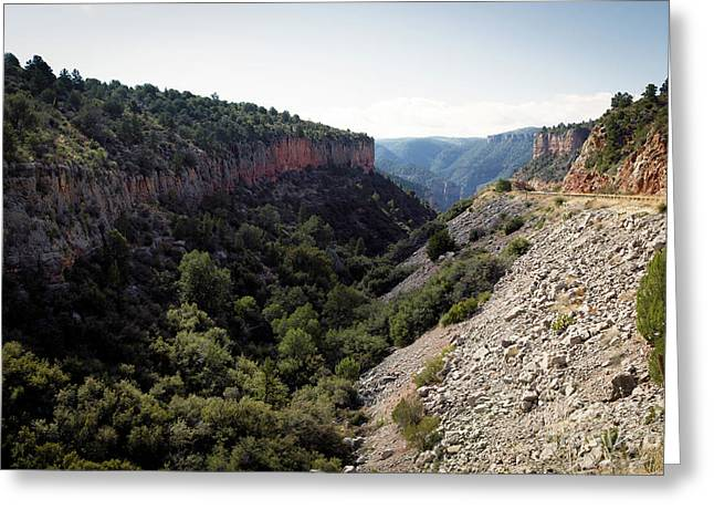Rough Country Greeting Card by Jon Burch Photography