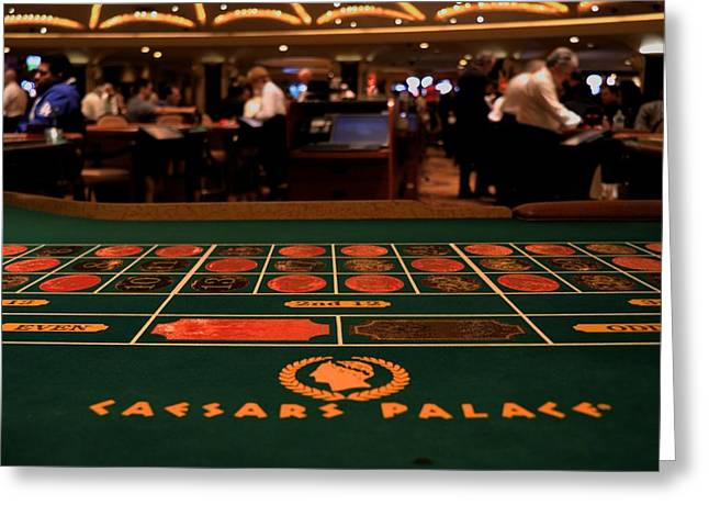 Roulette Greeting Card by Patrick  Flynn