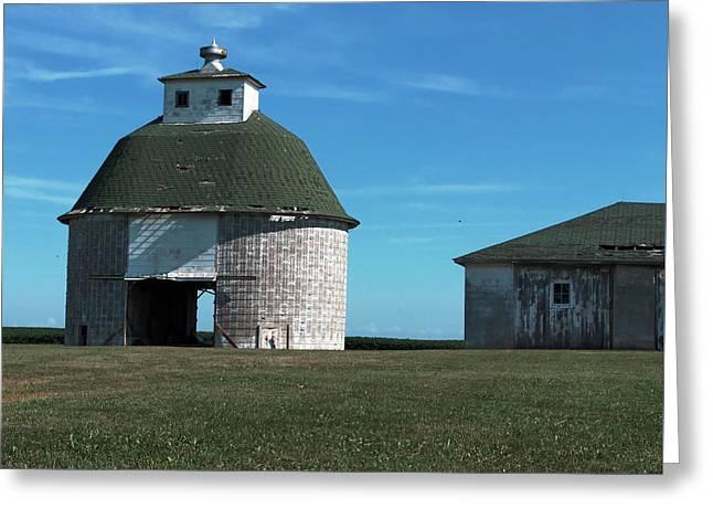 Round Barn Greeting Card