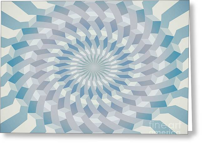 Round Pattern 170.4 Greeting Card by Igor Kislev