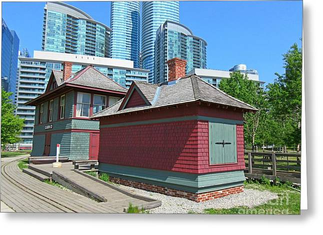 Roundhouse Park Toronto Greeting Card by John Malone