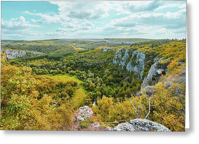 Roussenski Lom Nature Park Greeting Card