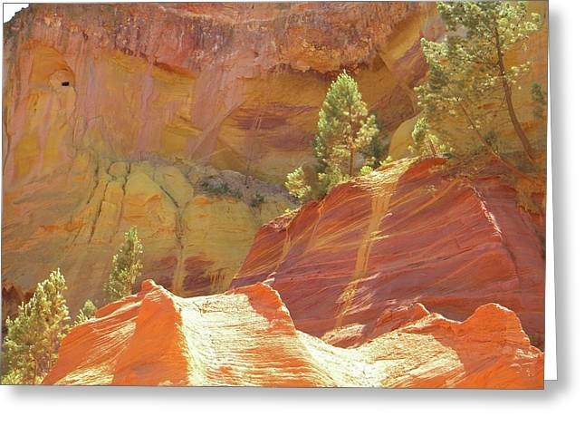 Roussillon Colours Greeting Card