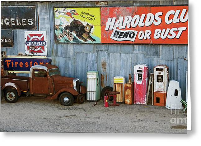 Route 66 California 2 Greeting Card by Bob Christopher