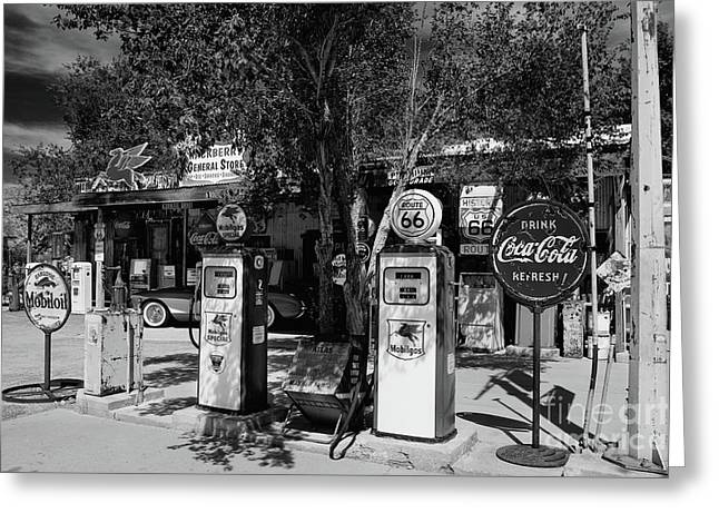 Route 66 Greeting Card by Henk Meijer Photography