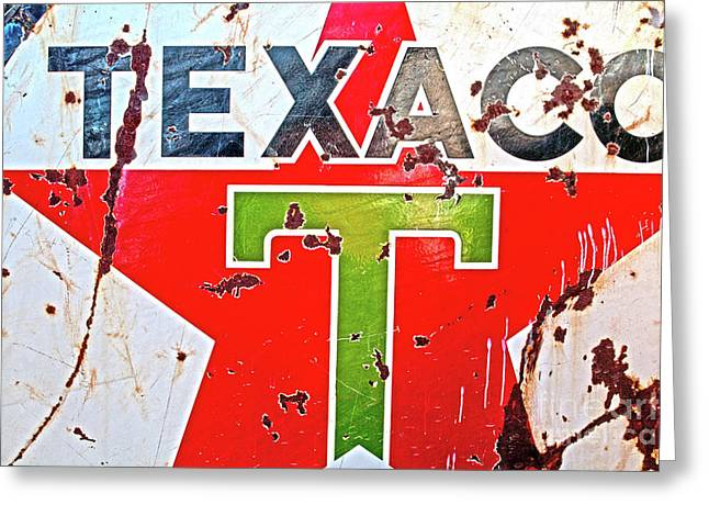 Route 66-texaco Greeting Card