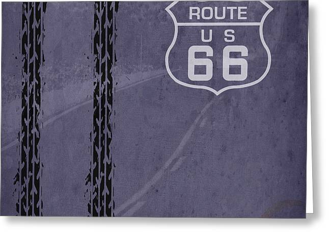 Route 66, Us 66 Greeting Card