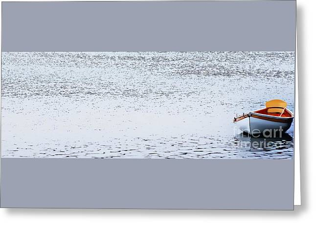 Row Me Down The River Greeting Card