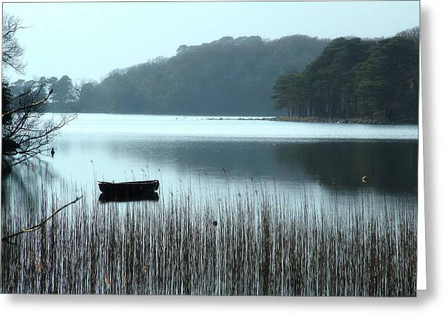 Rowboat On Muckross Lake Greeting Card
