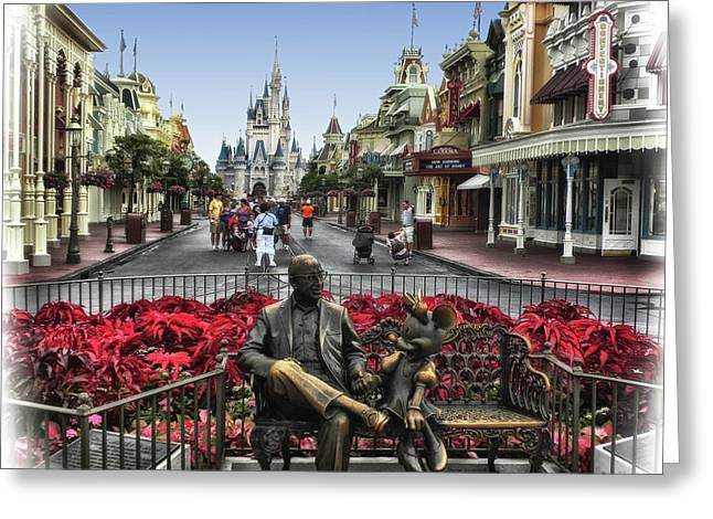 Roy And Minnie Mouse Walt Disney World Mp Greeting Card