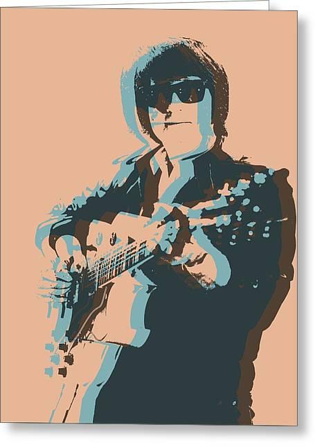 Roy Orbison Pop Greeting Card