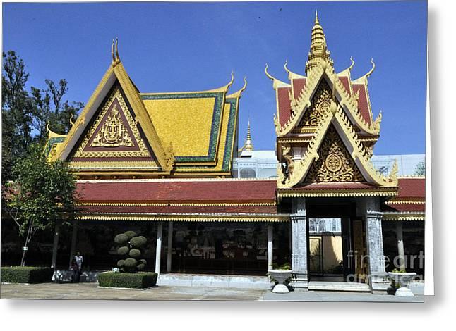 Roy Palace Cambodia 08 Greeting Card